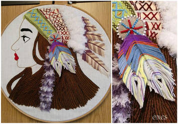 Indian - Embroidery by adtemexi