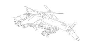 Destiny Spaceship by cogito-ergo
