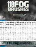118 Fog Brushes by FakeFebruary