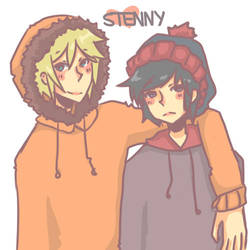 Stenny. by DoodleSauce