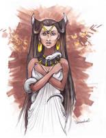 Ishtar by GreenSprite