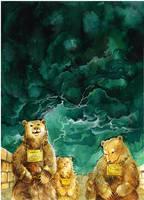 Sigrid's bears by GreenSprite