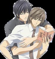 Hiroki and Nowaki by JRFantasy