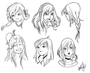 Imogen Facial Expressions by sjf9687