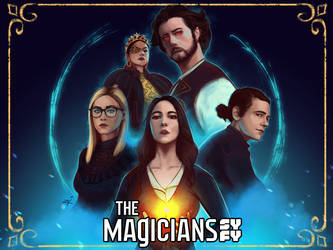 The Magicians Fan Art Contest by ziEcAelum