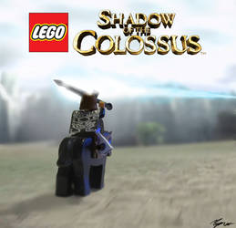 Lego Shadow of the Colossus by Morganicism