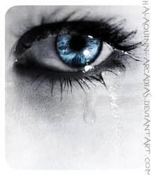 ...- Eye Cry -... by halaquinn-arcadias