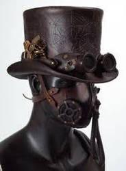 Steampunk Hat IV by ElectricRoseShade