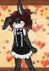 Maid outfit by SmolBunnieDraws