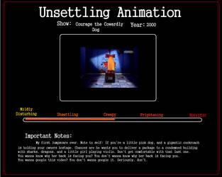 Unsettling Animation: Violin Girl by WritingForNoReason