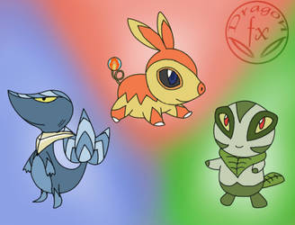 Not so obvious starters :D by DragoN-FX