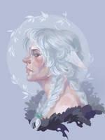 Snowy white by Dzeth