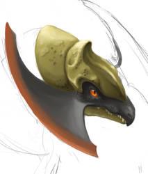 Haxorus Preview by BlueNudibranch