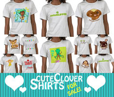 cuteCLOVER Shirts for SALE by Poiizu