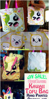 Kawaii Tofu Bag by Poiizu