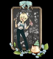 Onsil Cafe App - Miki Byeon by Poiizu