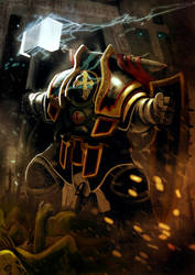 Commission: Warforge - Palix Horgold by DeadXCross