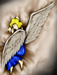 Sleeping Angel - R.Ash Colors by Dolari