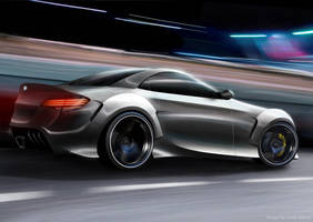 BMW-GT-R concept by Morfiuss