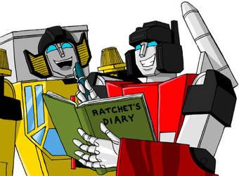 When Ratchet Is Not Here by DarkEnergon