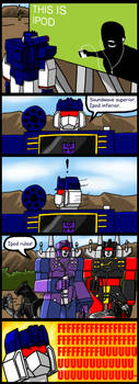 Soundwave's Rage by DarkEnergon