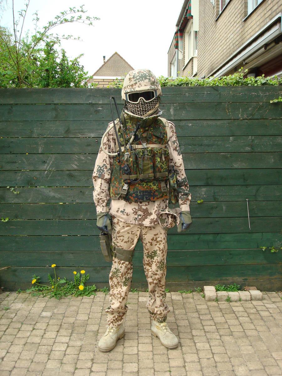 German KSK uniform by Mariukai
