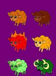 Popcorn Sheeps Adopt by DJBoomBase