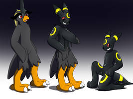 Umbreon Pooltoy TF Goo by Avianine