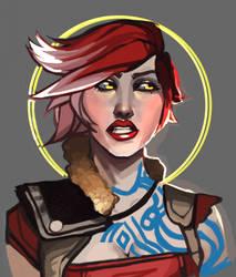 Lilith the Firehawk by Nightroxy