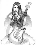 'Carina Guitar' by davenestler