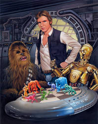 'Let the Wookie Win' by davenestler