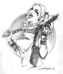Harley Quinn by davenestler