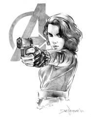 Black Widow by davenestler