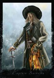 Captain Barbossa by Lanfirka