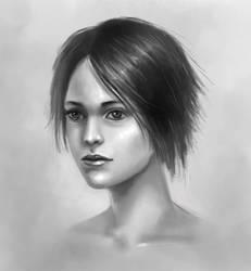 Lovely girl by Lanfirka