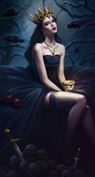 Queen-of-ravens by Lanfirka