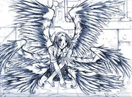 Broken Seraphim by Auraweaver