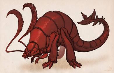 Rust Monster by Aazure-Dragon