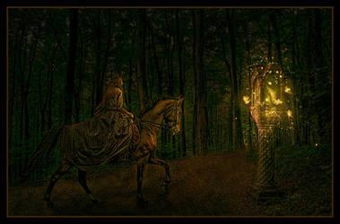 Lighted Path by spiritsighs
