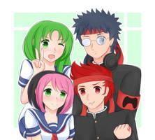 Gaming club unite! by Usa-Ji