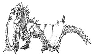 [MHE] Brute Elder Dragon by r-heinart