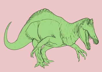 Hybrid Dinovember #2 by r-heinart