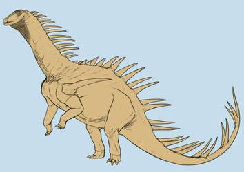 Hybrid Dinovember #3 by r-heinart