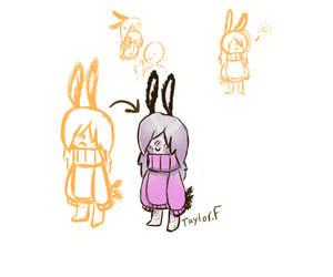 sea Bunny girl Request# 7 by Latias-luna