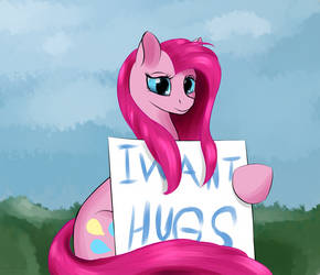 She Only Wants Hugs by Renarde-Louve