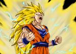 Super Saiyan 3 Son Goku by deriavis
