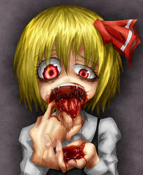 Bloody mouth by Ray-kbys