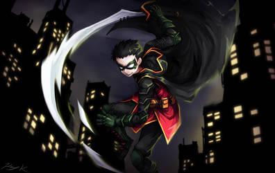 Damian Wayne by Ray-kbys