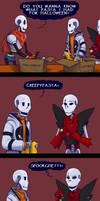 Halloween Pasta by Maxlad