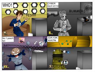 Doctor who and Mario Kart by Kenzoe64